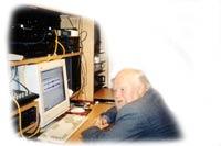 Autor muzyki m.in. do Bolka i Lolka, Tadeusz Kocyba ; kliknij,żeby powiększyć...