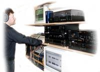 Studio nagrań dźwiękowych; kliknij,żeby powiększyć...