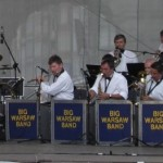 Msza jazzowa na gdańskiej starówce.