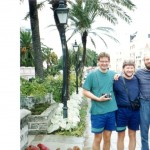 Janysz mackiewicz, Emil Kowalski i Janusz Brych. Kostaryka.