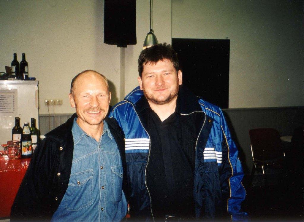 Rudolf Wodniok, wierny fan mojej muzyki.