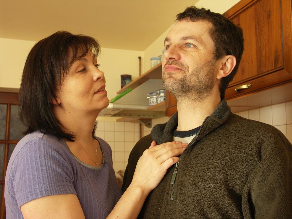 Basista Witek Stambulski z żoną Mirką, Zachemie, gospodarstwo agroturystyczne www.wisniowysad.pl.